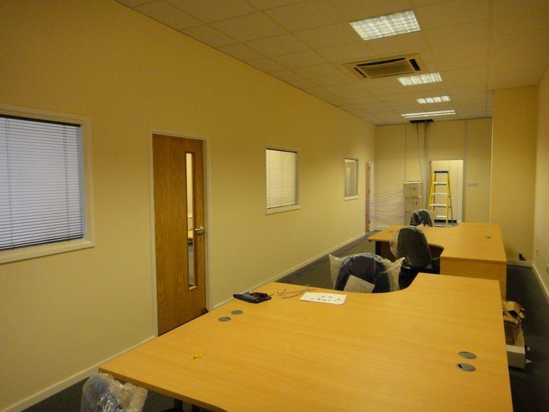 Office stud walls