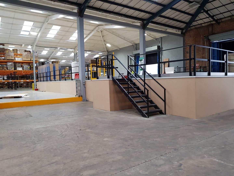 mezzanine flooring - single tiered