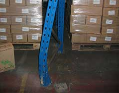 damaged pallet racking inspections