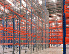 PASSHA design and build bespoke warehouse storage systems