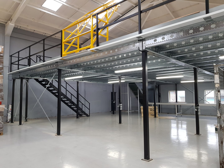 Recent mezzanine floor installation ex&les & Mezzanine Solutions for Warehouses \u0026 Offices by Passha